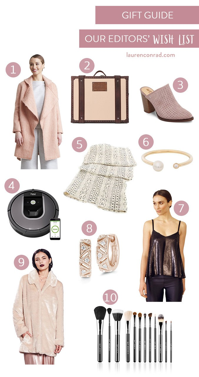 Tuesday Ten Our Editors Holiday Wish List Lauren Conrad