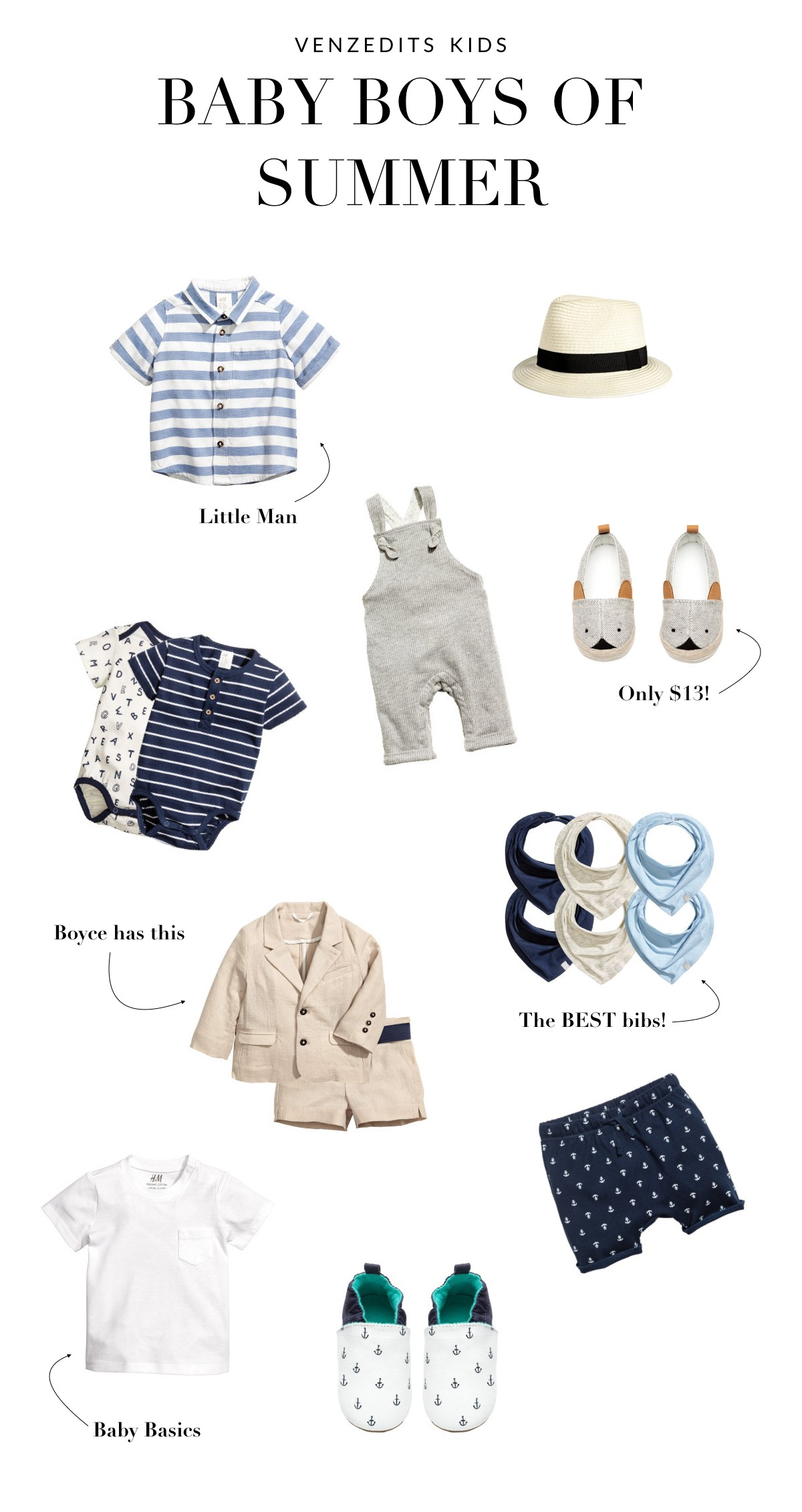 Best of H&M Kids Baby Boys of Summer