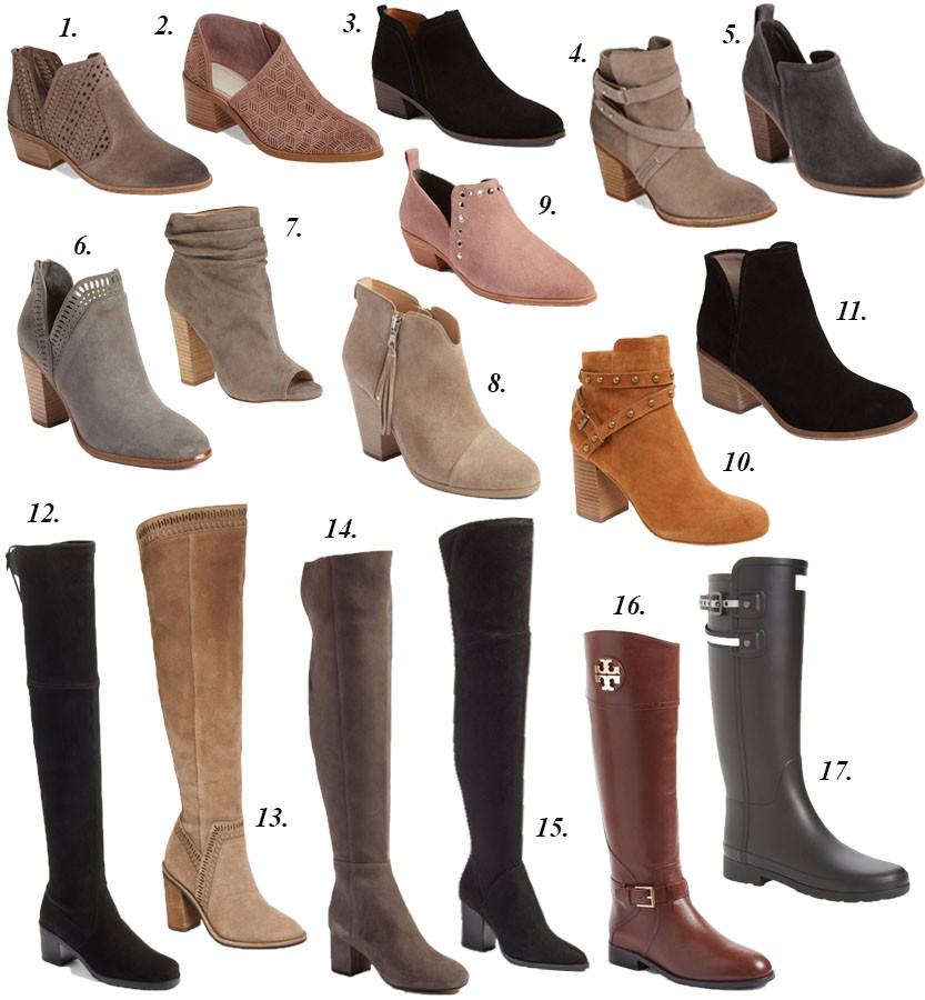 Best Nordstrom Boots And Booties Visions Of Vogue