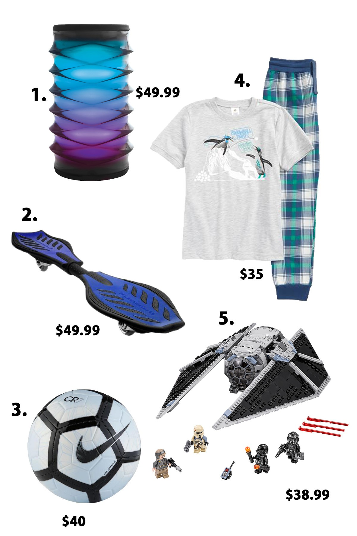 Holiday t ideas for the whole family under $100 and $50 The