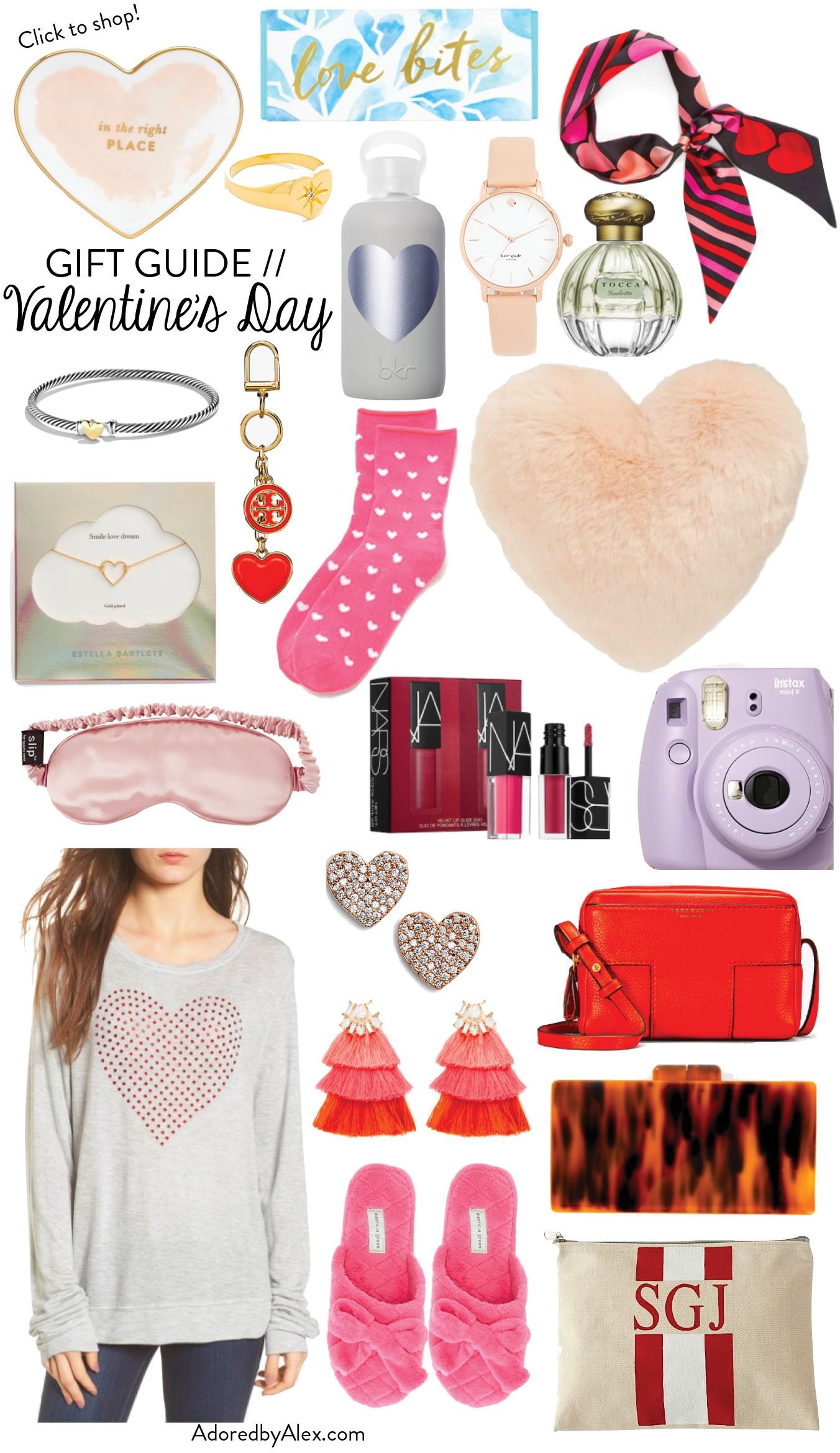 Let S Shop Valentine S Day Gift Ideas For Her Adored By Alex