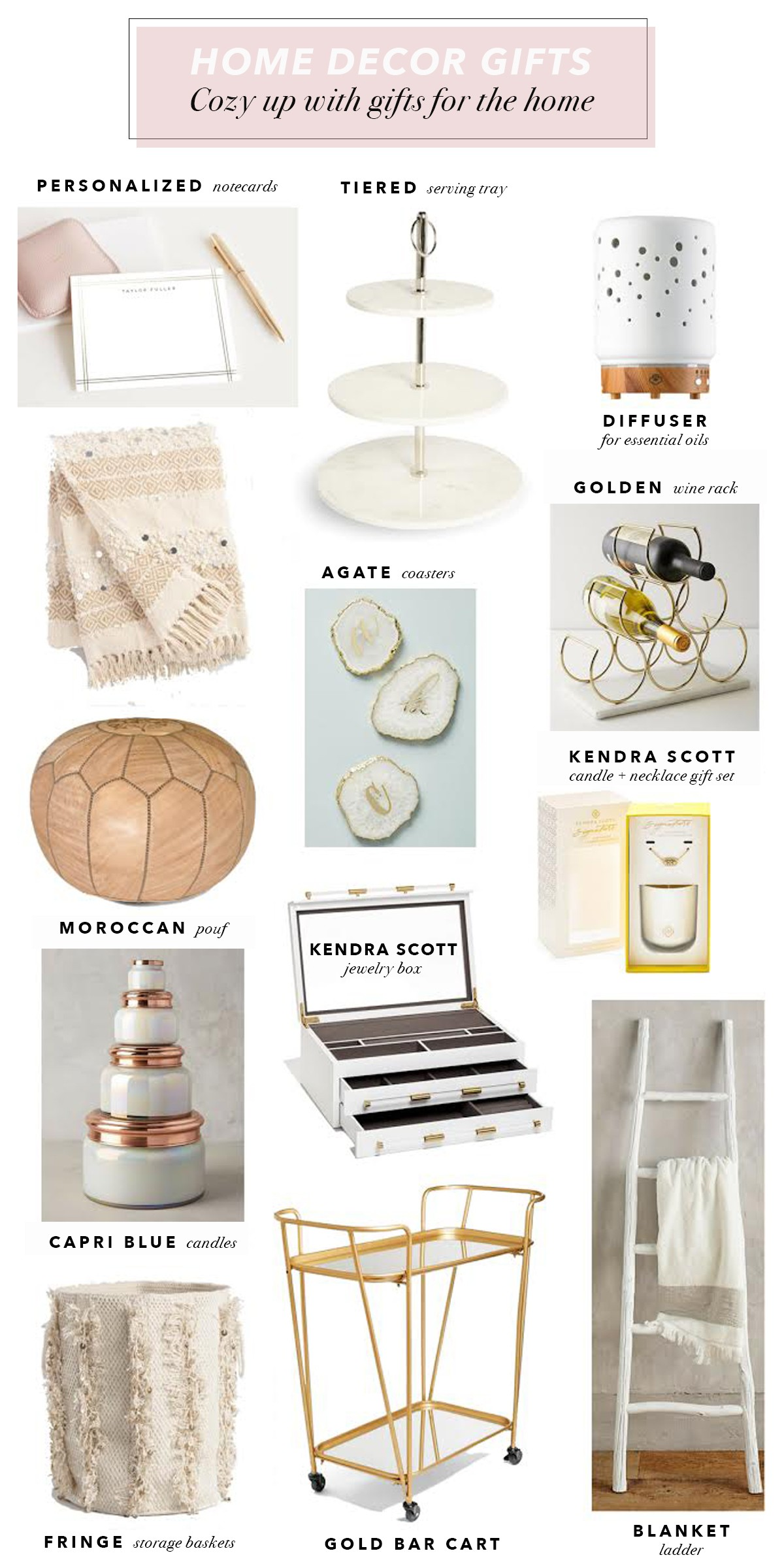 Holiday Home Decor Gift Ideas The Lovely Gift Guide