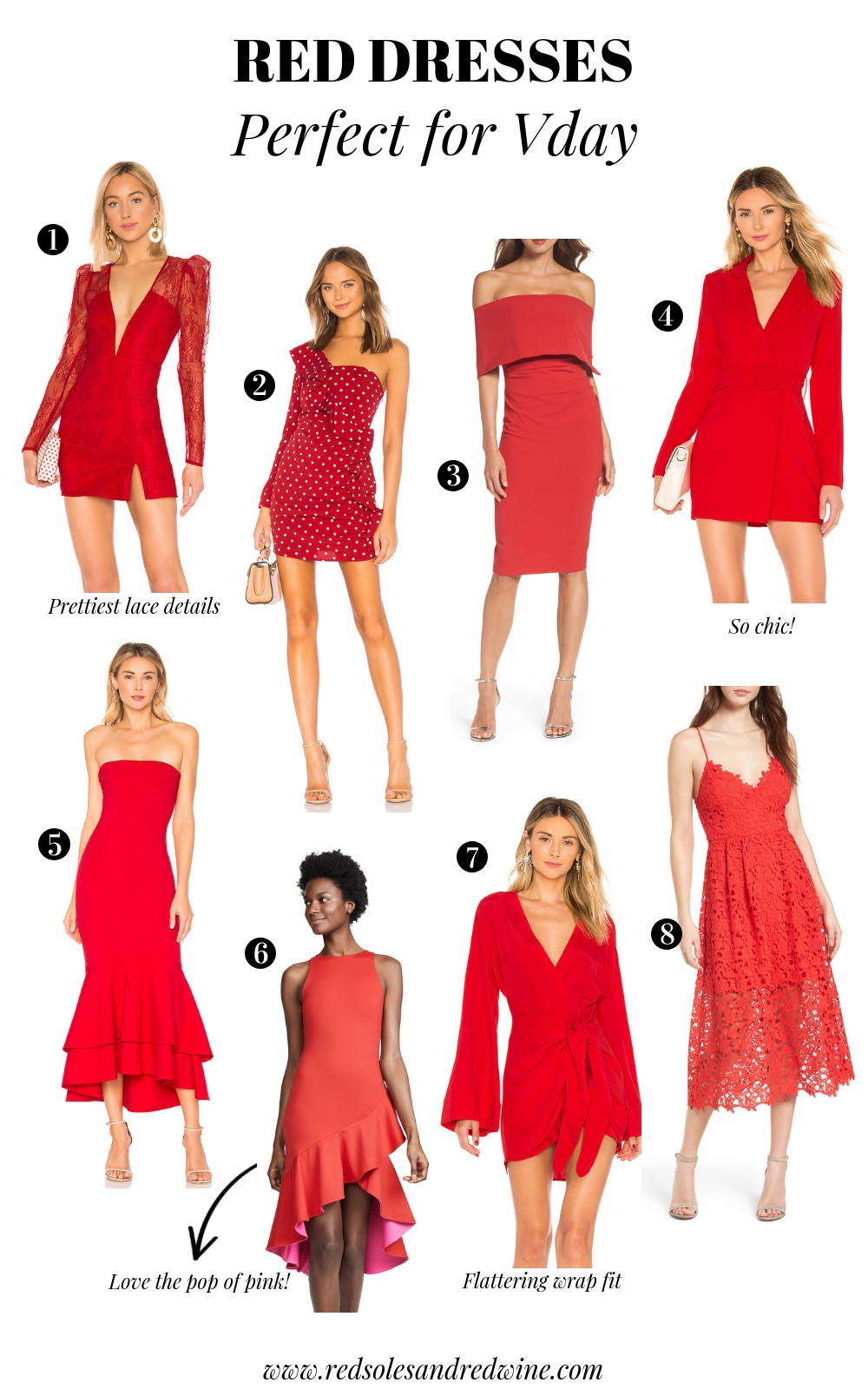 Red Hot Dresses For Valentines Day Red Soles And Red Wine