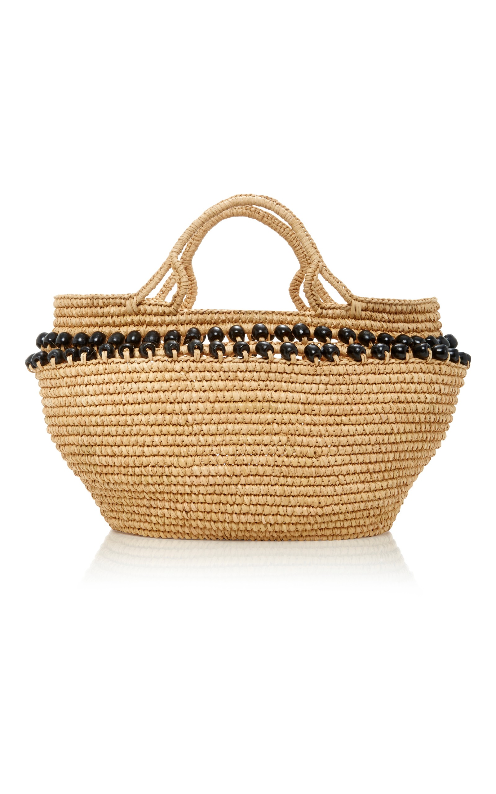 Basket-Inspired Beach Bags - Born on Fifth