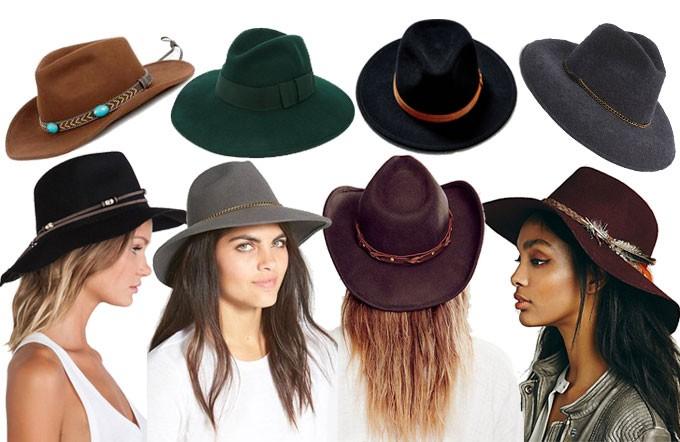 San Diego Hat Company Cowboy Hat    Catarzi Exclusive To ASOS Classic Fedora  Hat    Urban Outfitters Alexa Panama Hat    Chain Trim Wool Fedora f66b6b82911