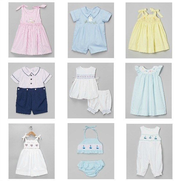 ade73ed50d44d Zullily posted some adorable heirloom-esque children's clothing this  morning. I love the delicateness of these clothes – not too loud and appropriate  for ...