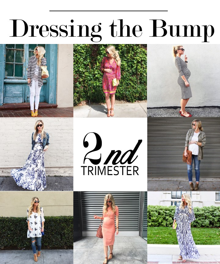 1f2a8193cf167 DRESSING THE BUMP SERIES: WHAT TO WEAR DURING YOUR SECOND TRIMESTER - Elle  Apparel by Leanne Barlow