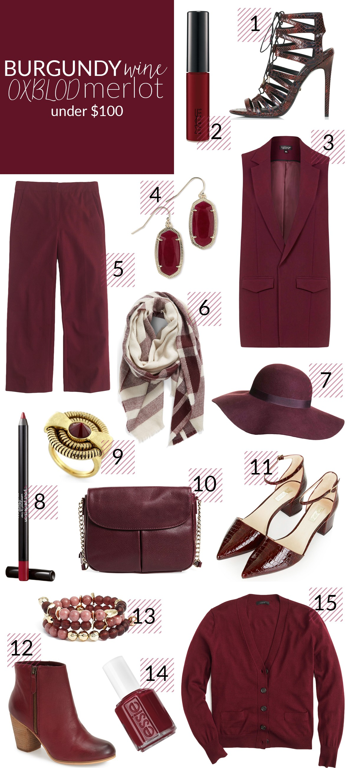 poor little it girl how to wear burgundy for fall