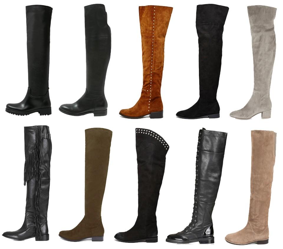 Verwonderlijk Shoppen: overknee boots zonder hak - MonStyle VA-33