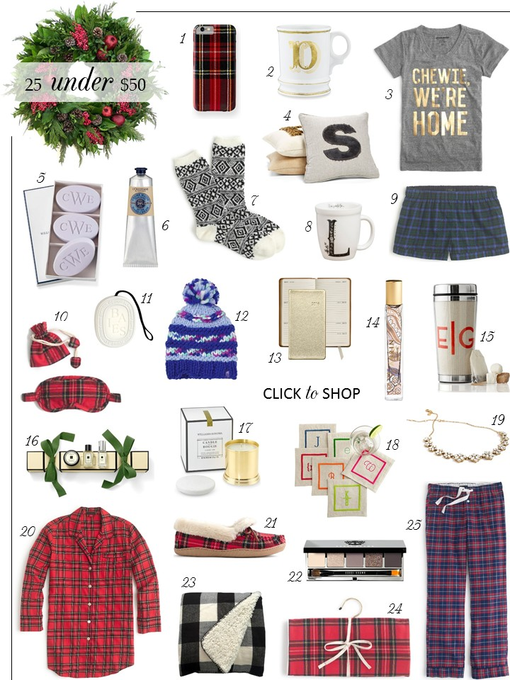 christmas gift guide 25 gifts under 50 - Christmas Gifts Under 25