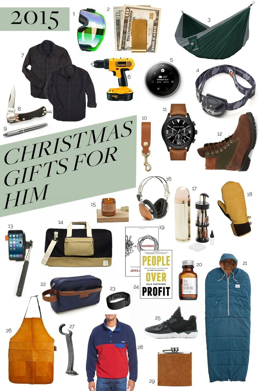 2015 Christmas Gift Guide For Him • Auj Poj