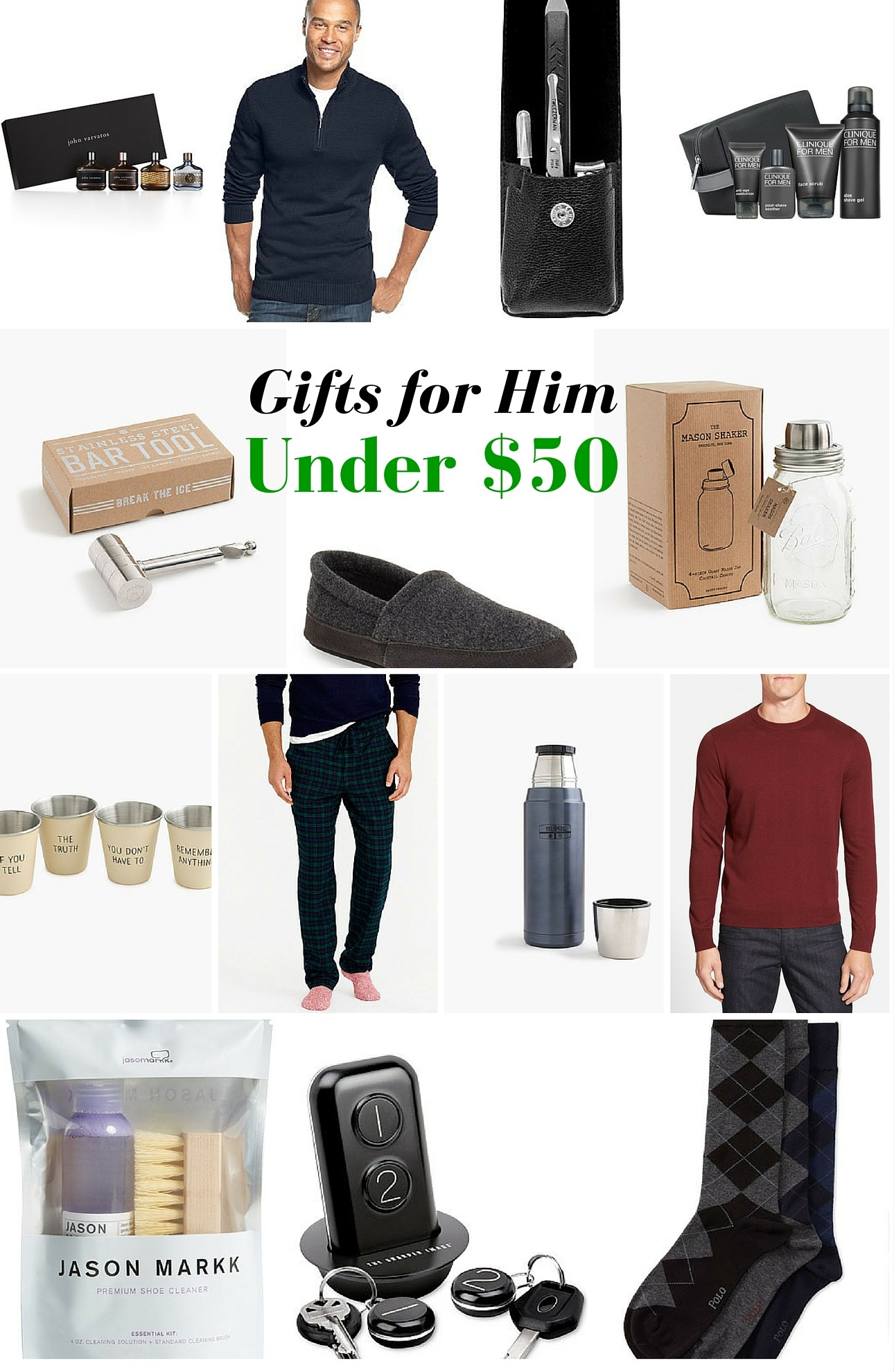 Gifts for Him Under $50 - Mama In Heels