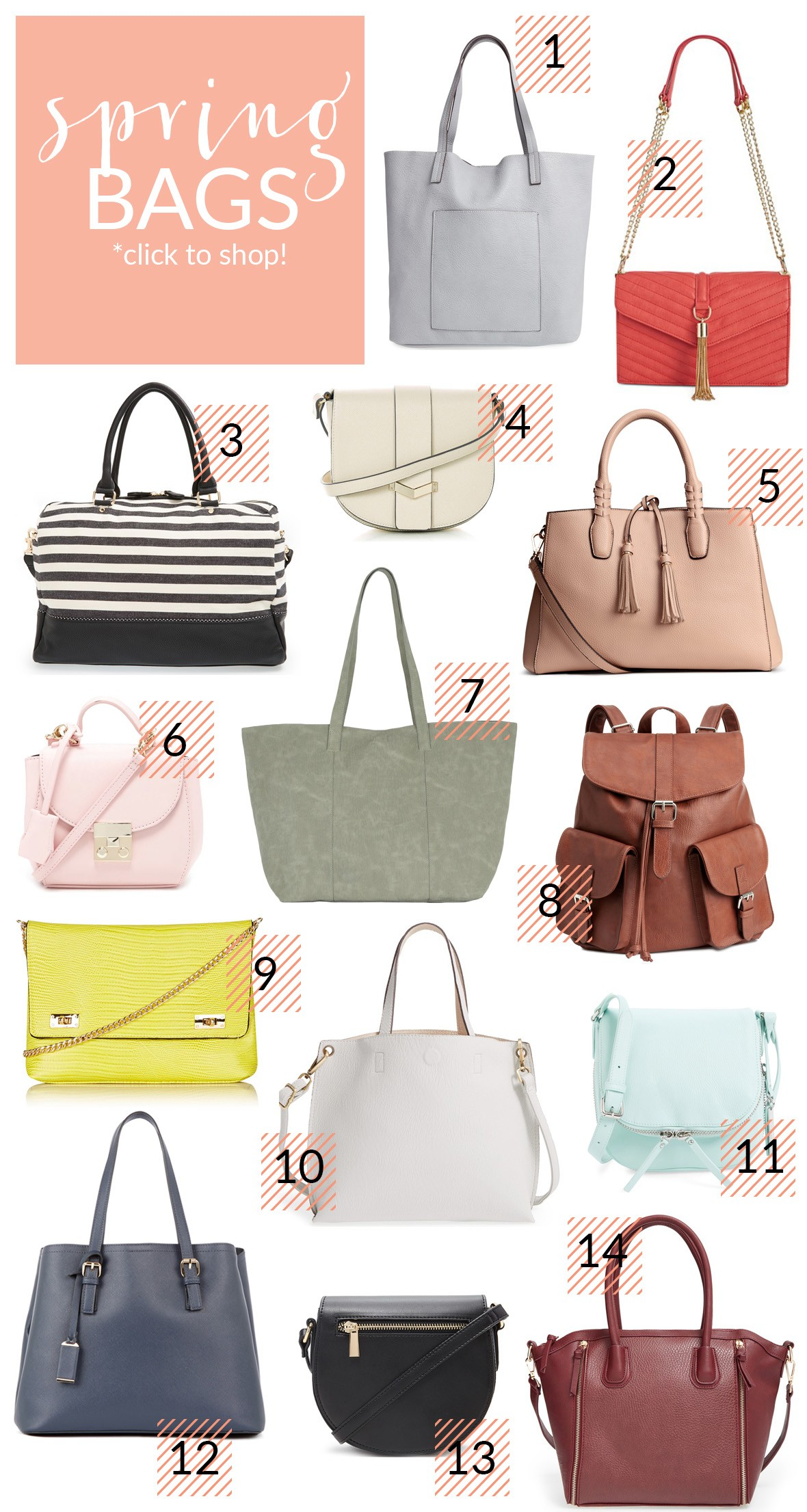 More Spring Bags To Love