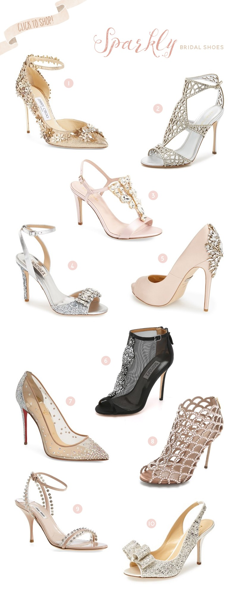 4050937e6d3 Shopping Guide  1.Jimmy Choo  Lorelai  Floral Embellished Ankle Strap Pump