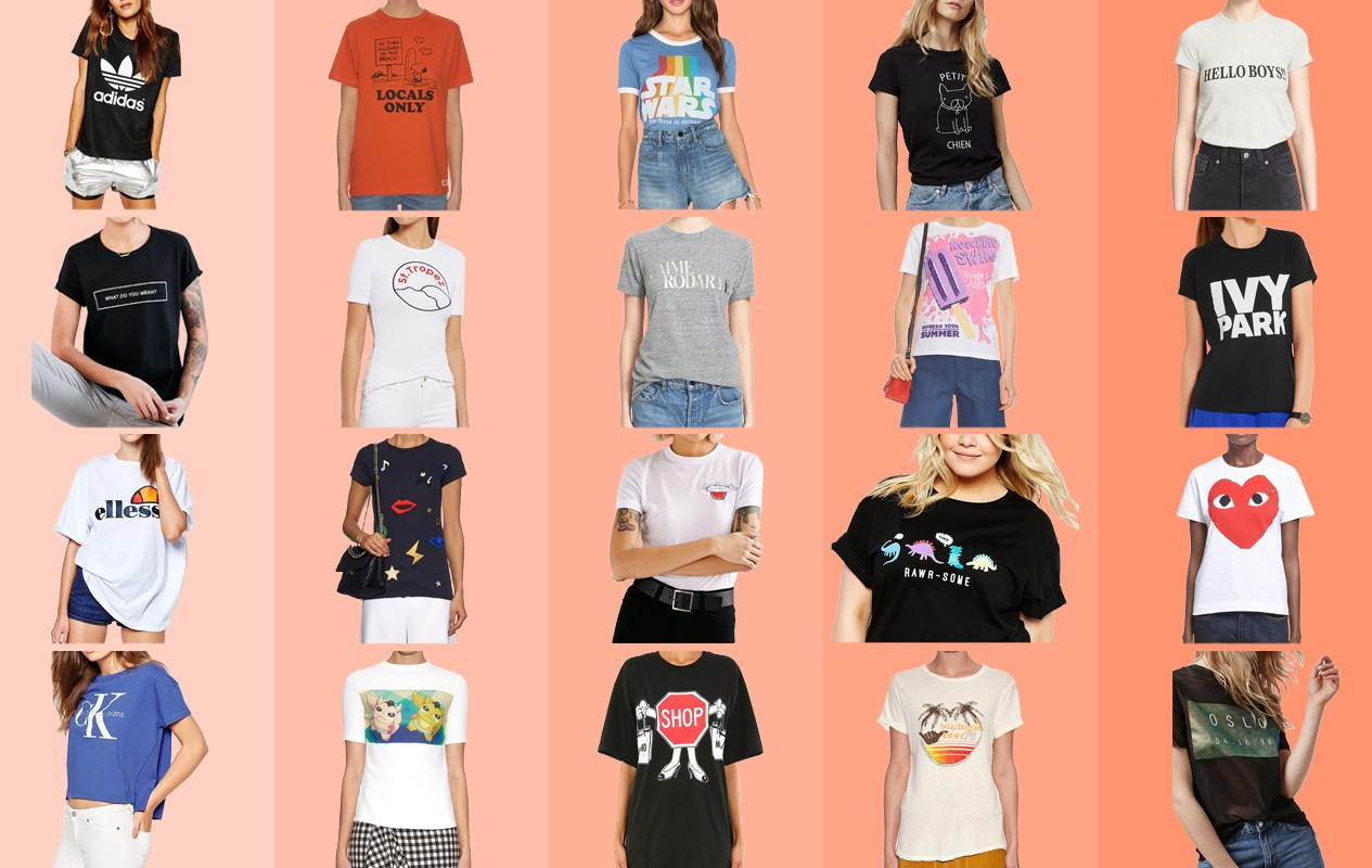 a913d9968 Easy to wear and too good to ignore – welcome back Graphic Tees…