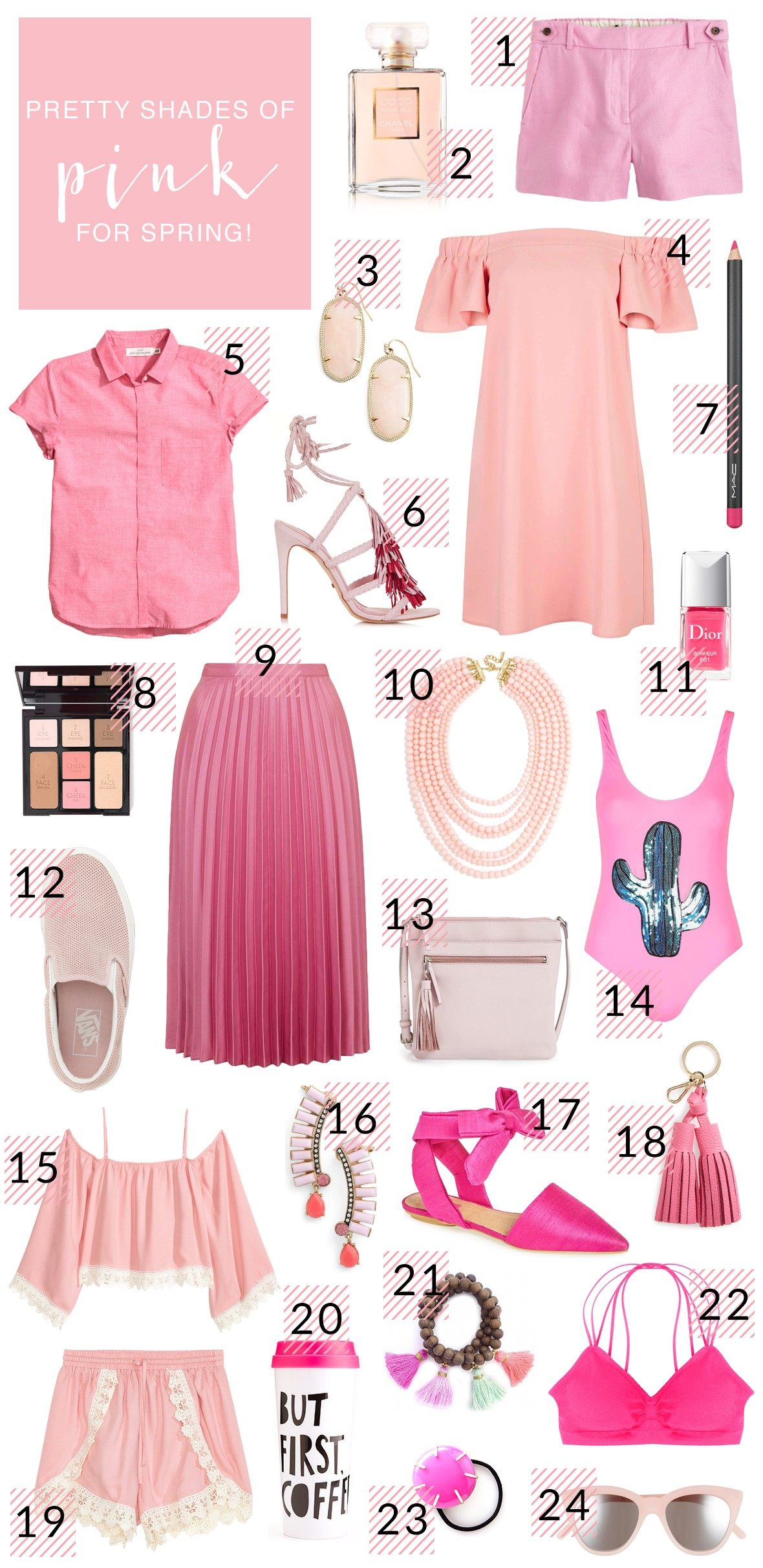 3fda562db Pretty Shades Of Pink For Spring - Poor Little It Girl
