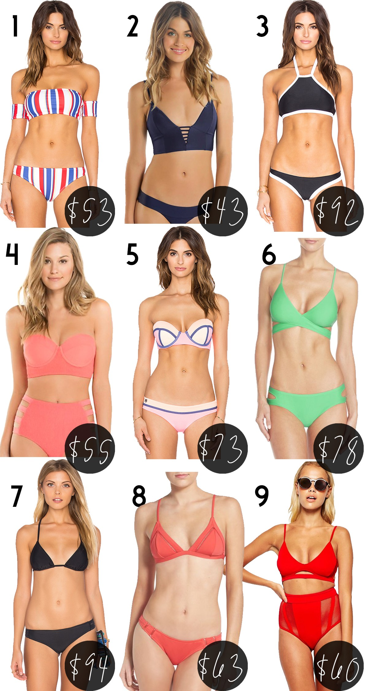 d1ac9c72ae522 Swimsuit Roundup for the Beach Babe on a Budget