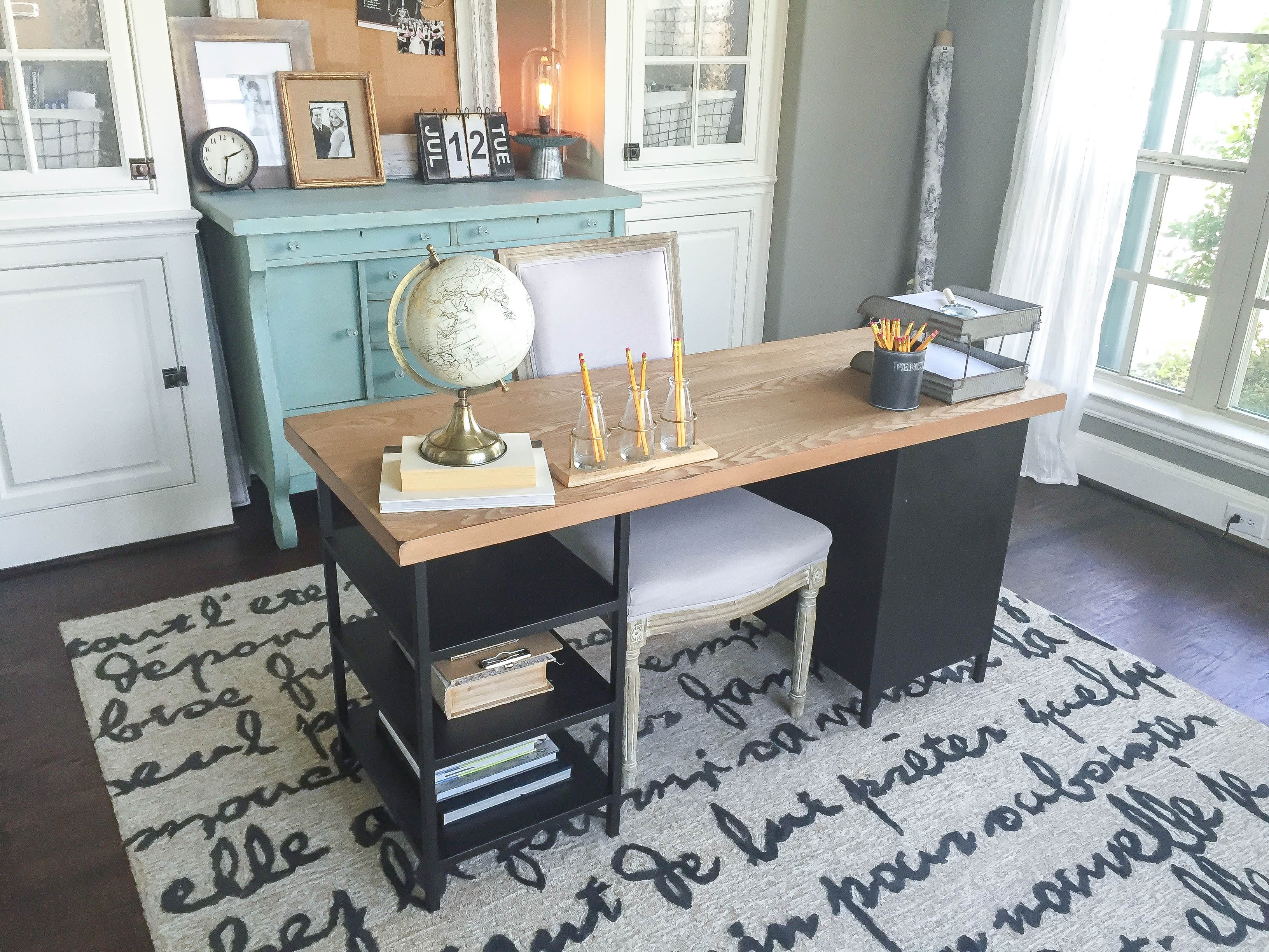 After Finding The Perfect Desk It Was Time To Accessorize Again There Are So Many Awesome Options At World Market First Thing I Found This Gold