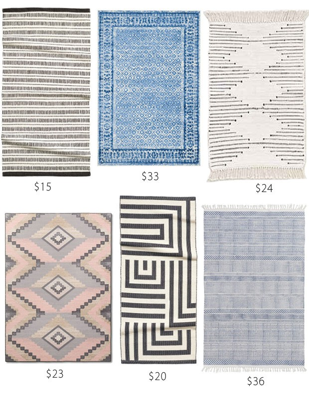 Row 2  Giamei Rug  23  Woven Pattern Rug  20  Hand Woven Charleigh Rug  36. Bathroom accent rugs that won  39 t break the bank   Pink Little Notebook