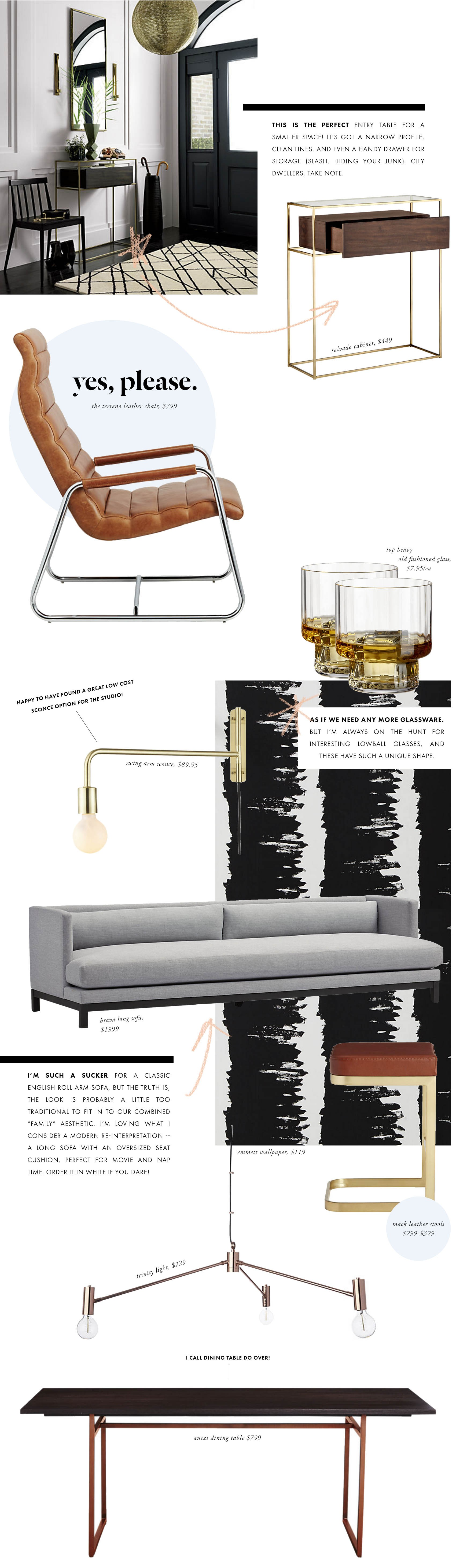 Incredible Crushing On A New Cb2 Victoria Mcginley Studio Inzonedesignstudio Interior Chair Design Inzonedesignstudiocom