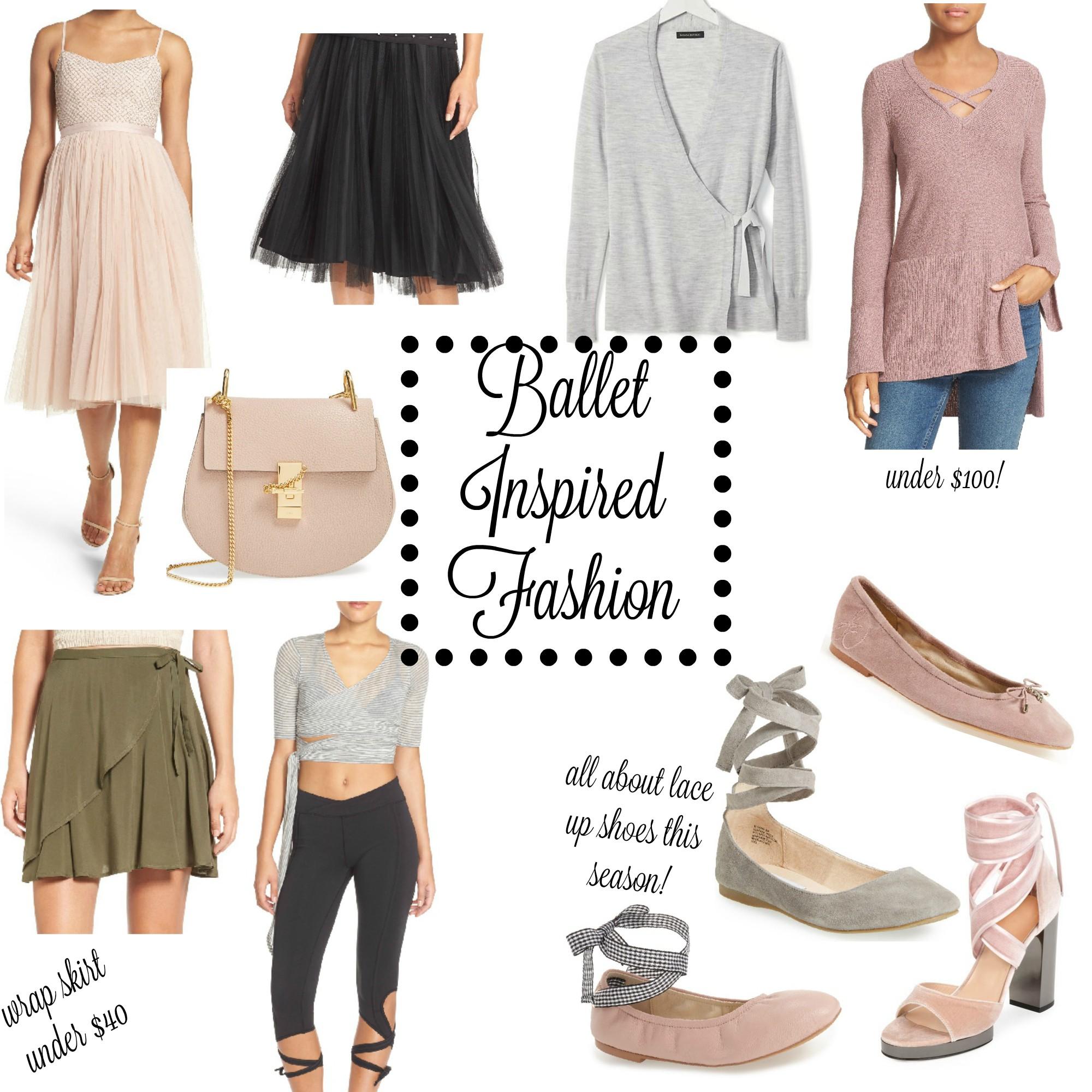 0224b7fa92c23 Ballet Inspired Fashion -
