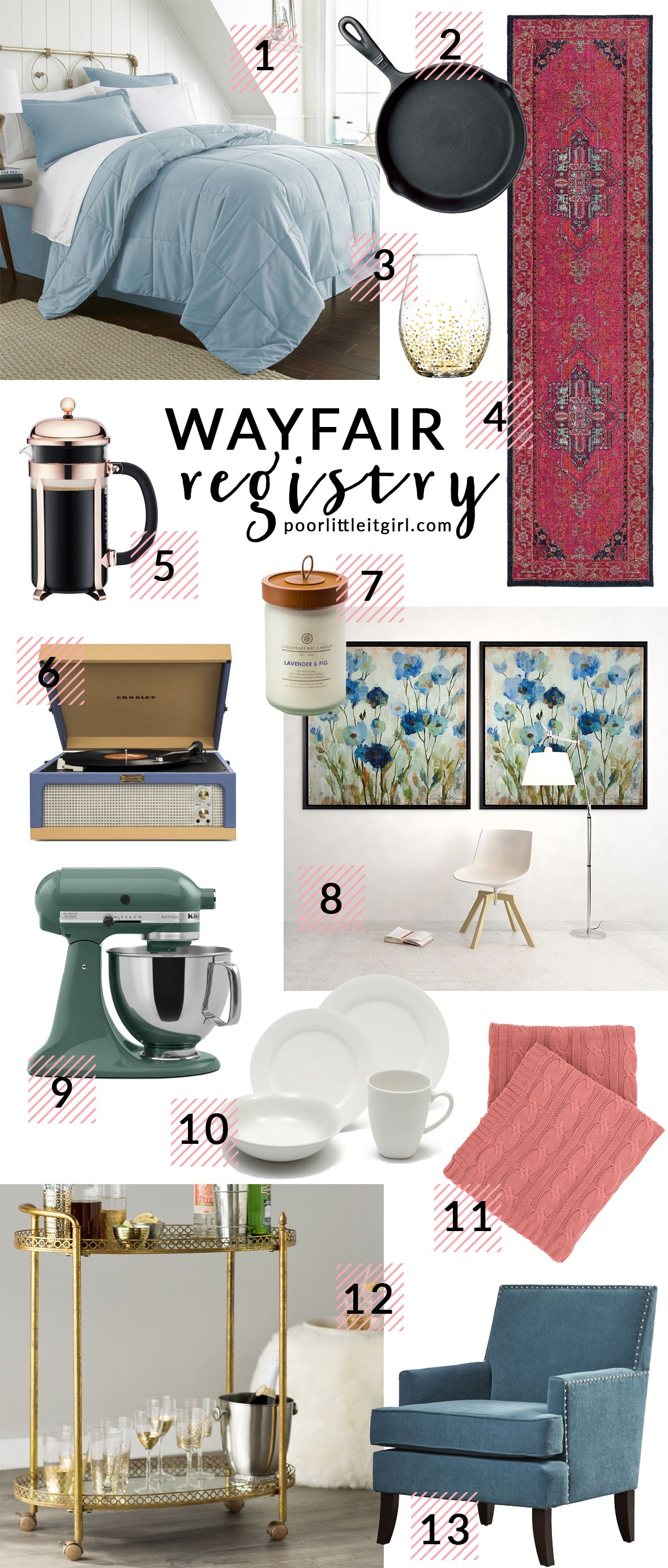 Wayfair Registry Launch And Sweepstakes Poor Little It Girl