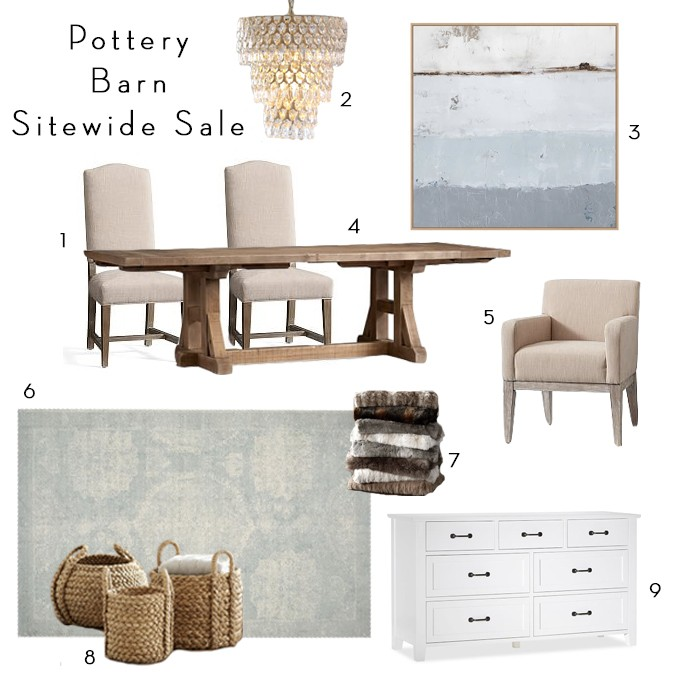 Sitewide Pottery Barn Sale: Buy More