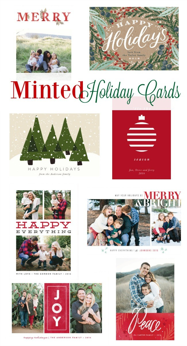 Minted Christmas Cards - Top Picks   Laura Trevey Holiday