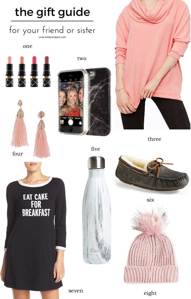 holiday gift guide for your friend or sister - Gifts For Sister Christmas