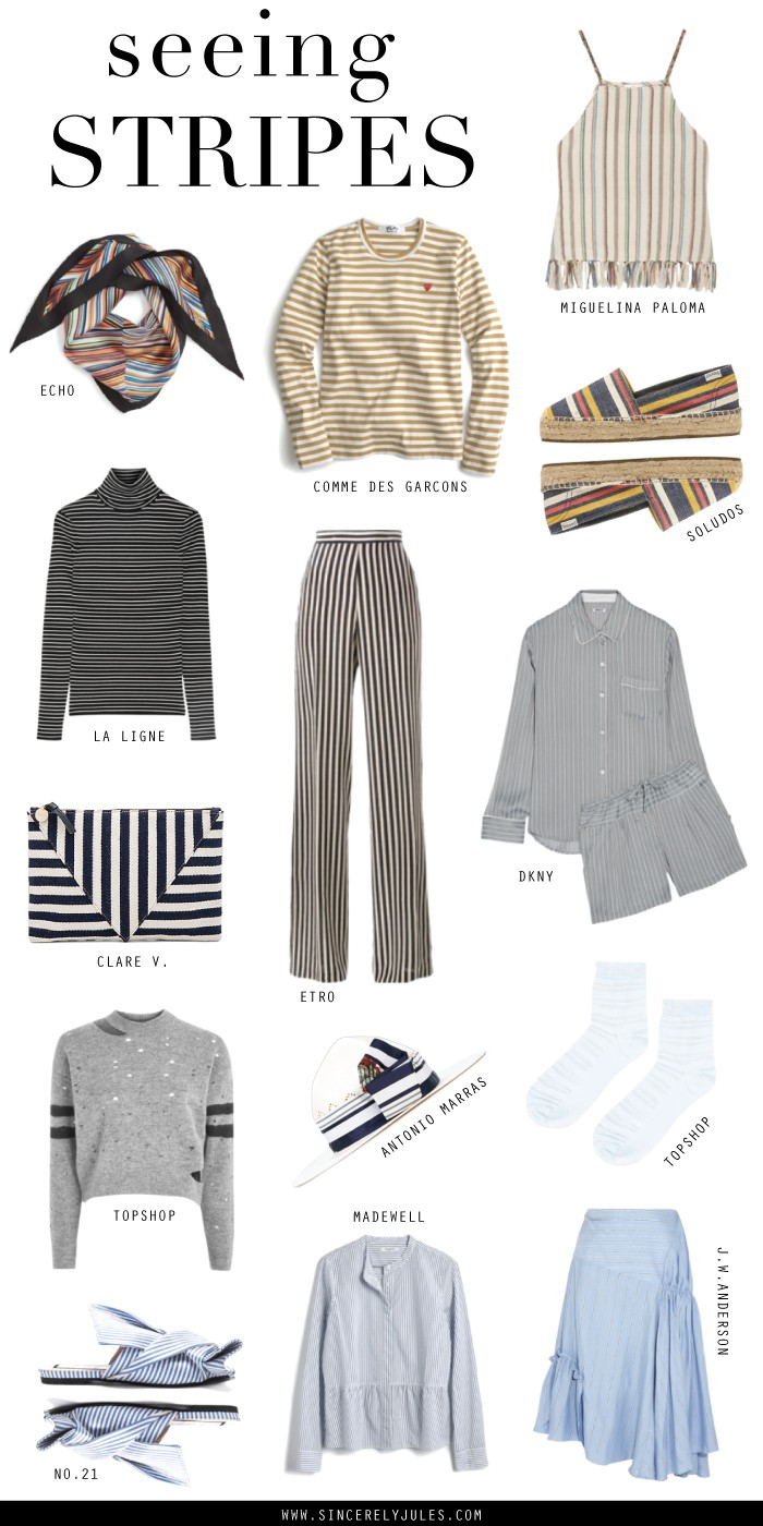 Seeing Stripes  – Sincerely Jules