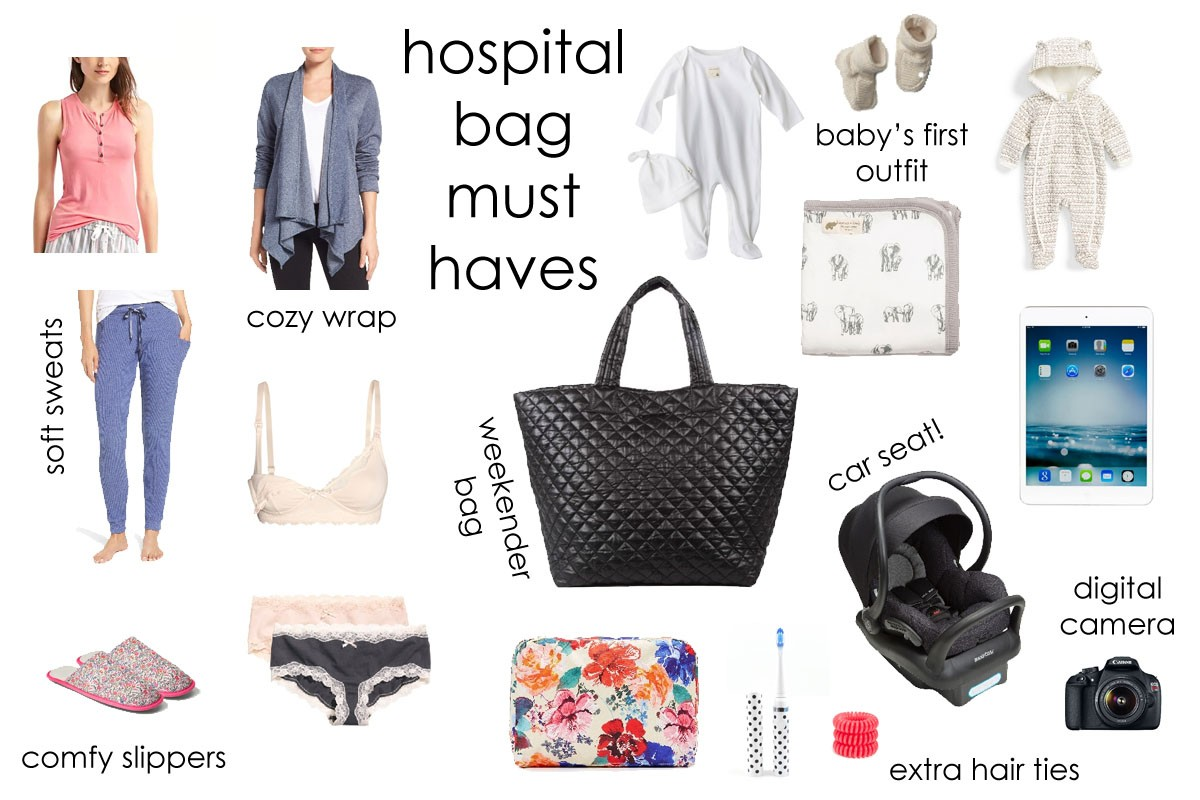 So What Have I Packed In My Baby Hospital Bag Far Let S Check Out Must Haves