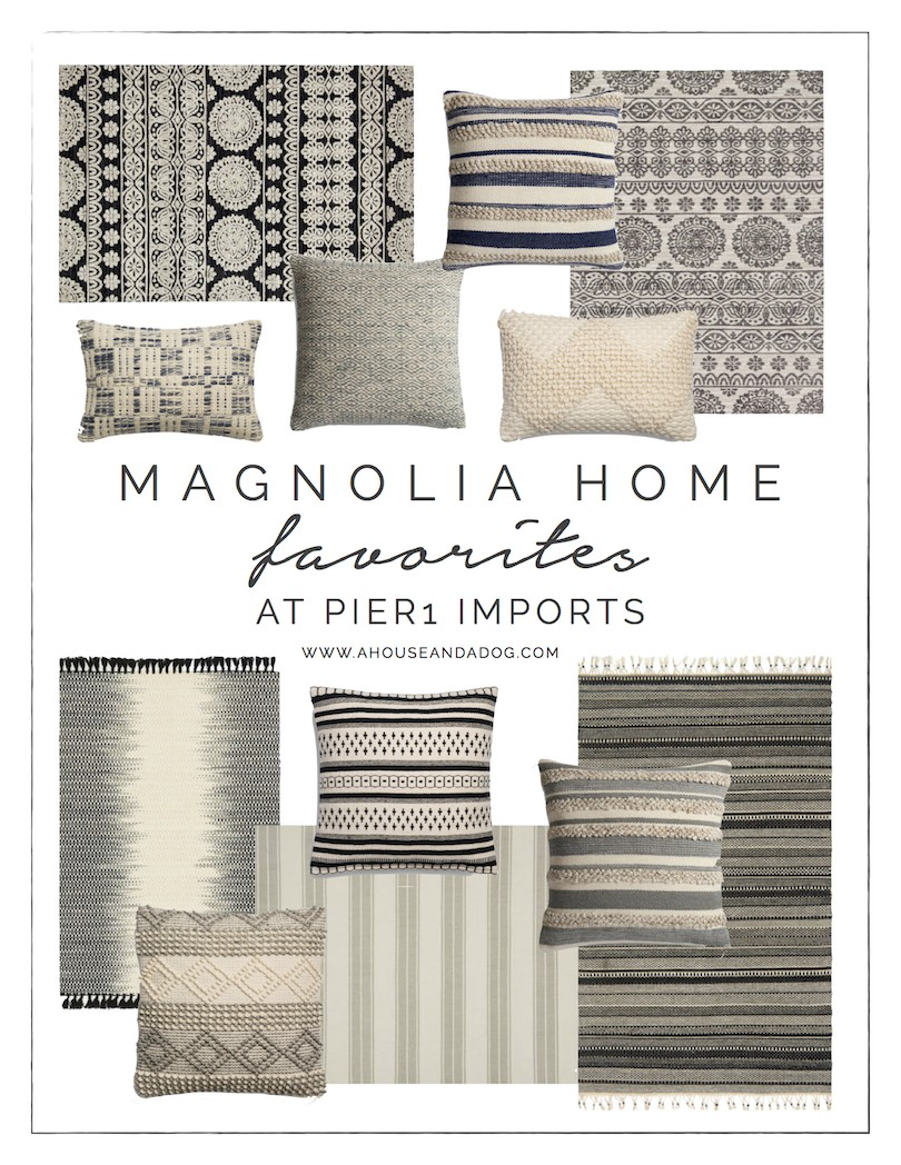 Magnolia Home Rugs Pillows At Pier 1