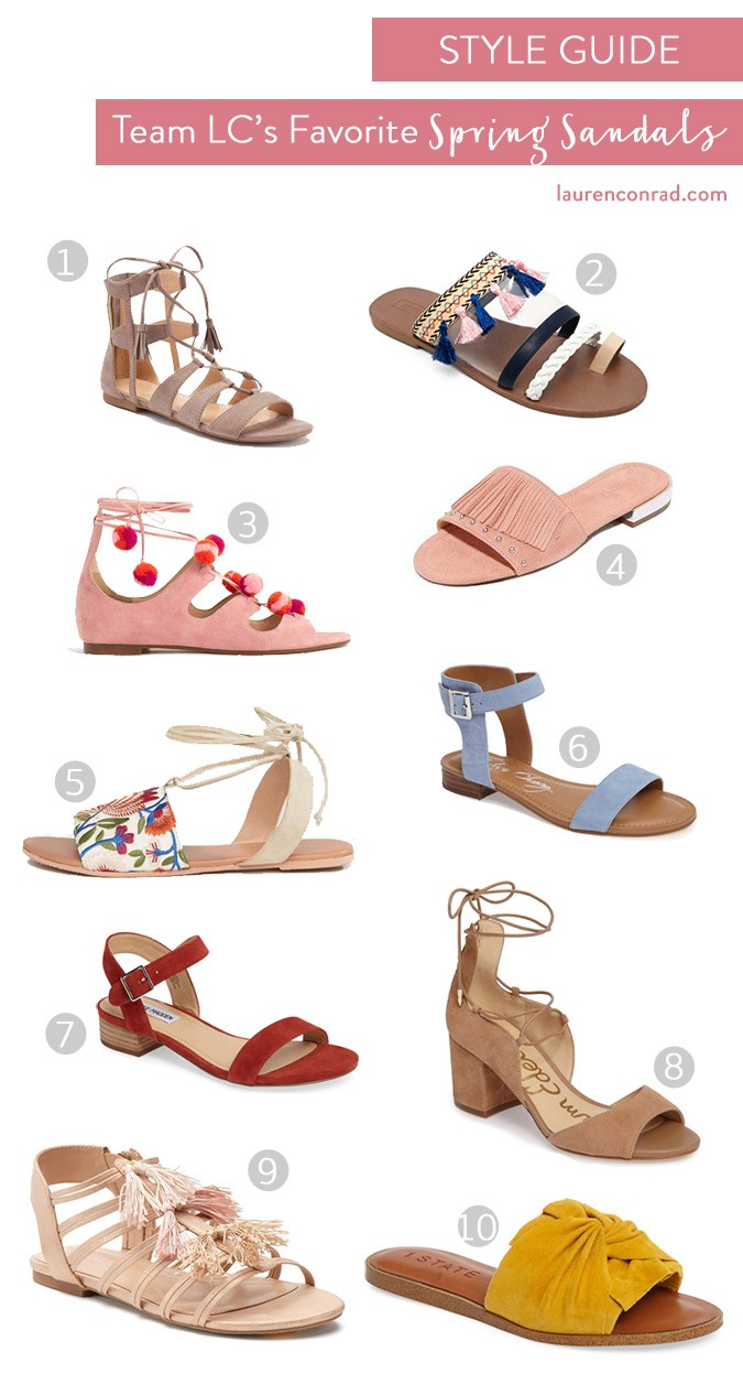 795d04028a9 Style Guide  Our Favorite Spring Sandals - Lauren Conrad