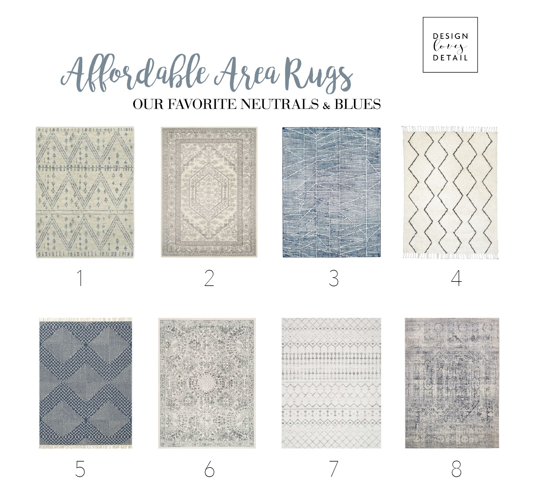 Stylish Affordable Area Rugs Neutral