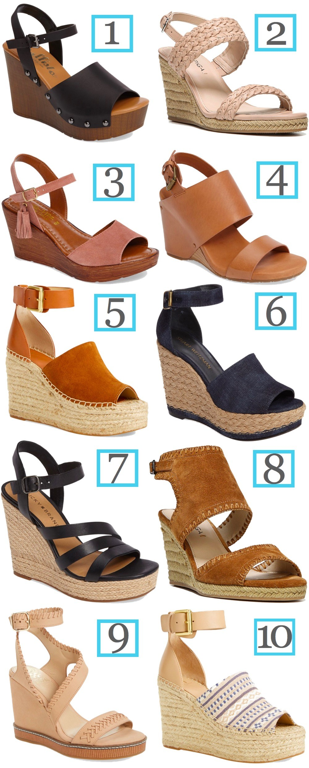 get cheap special for shoe sports shoes Cute, Comfortable Wedge Sandals Roundup | Luci's Morsels