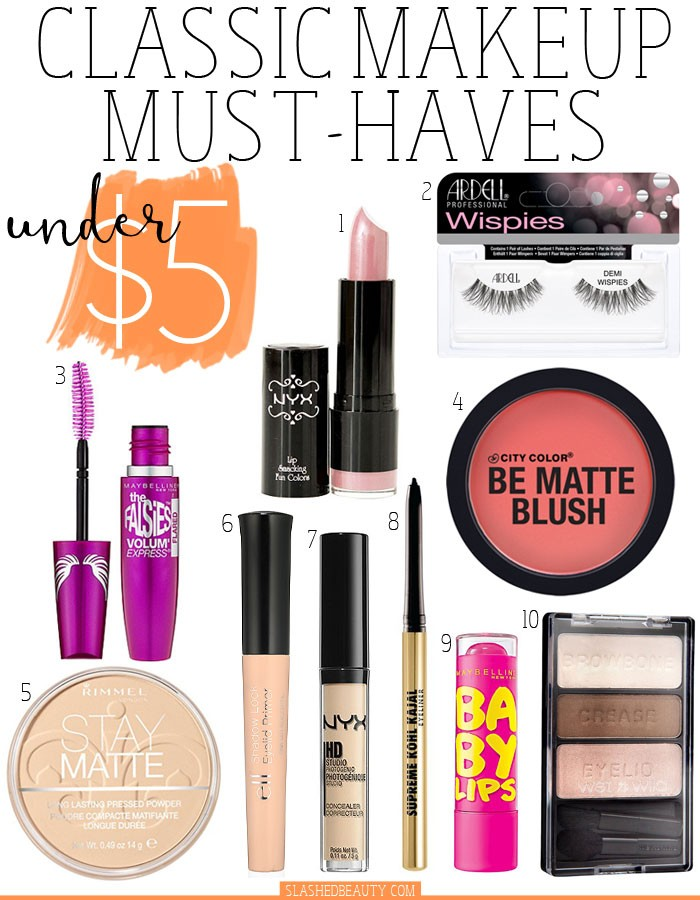 click the icon to find the product online - Makeup Must Haves