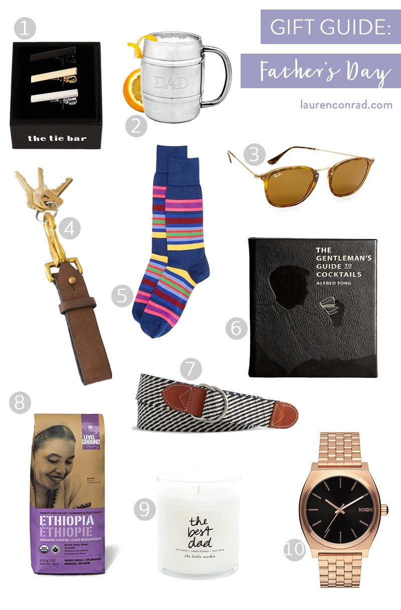 Gift Guide Fathers Day Lauren Conrad