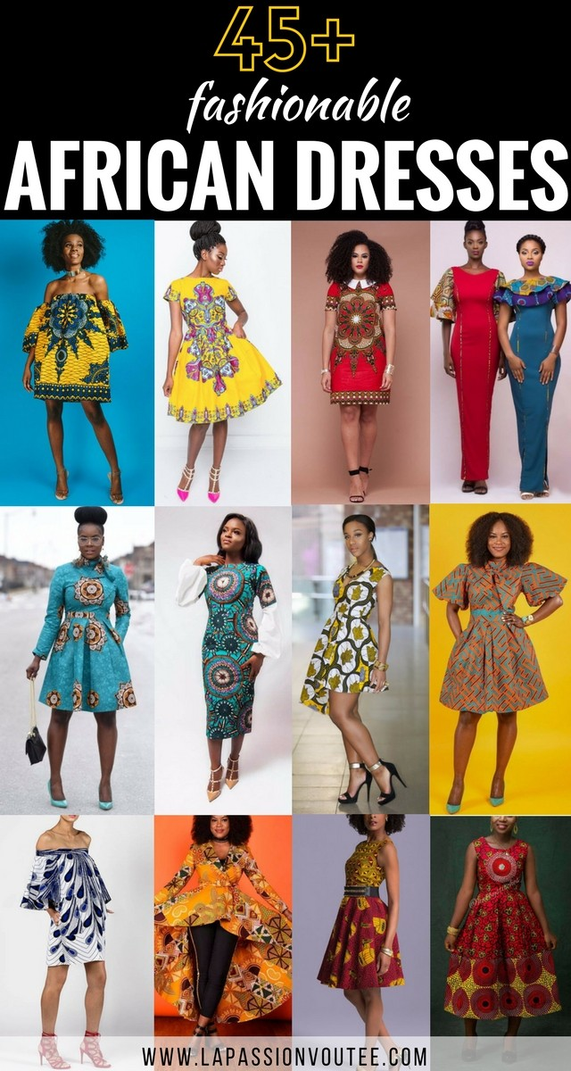 74ce913804 45 Fashionable African Dresses to Wow This Season