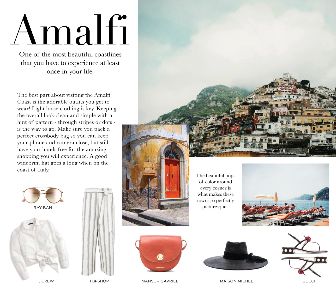 Take Me To: Amalfi - Sincerely Jules