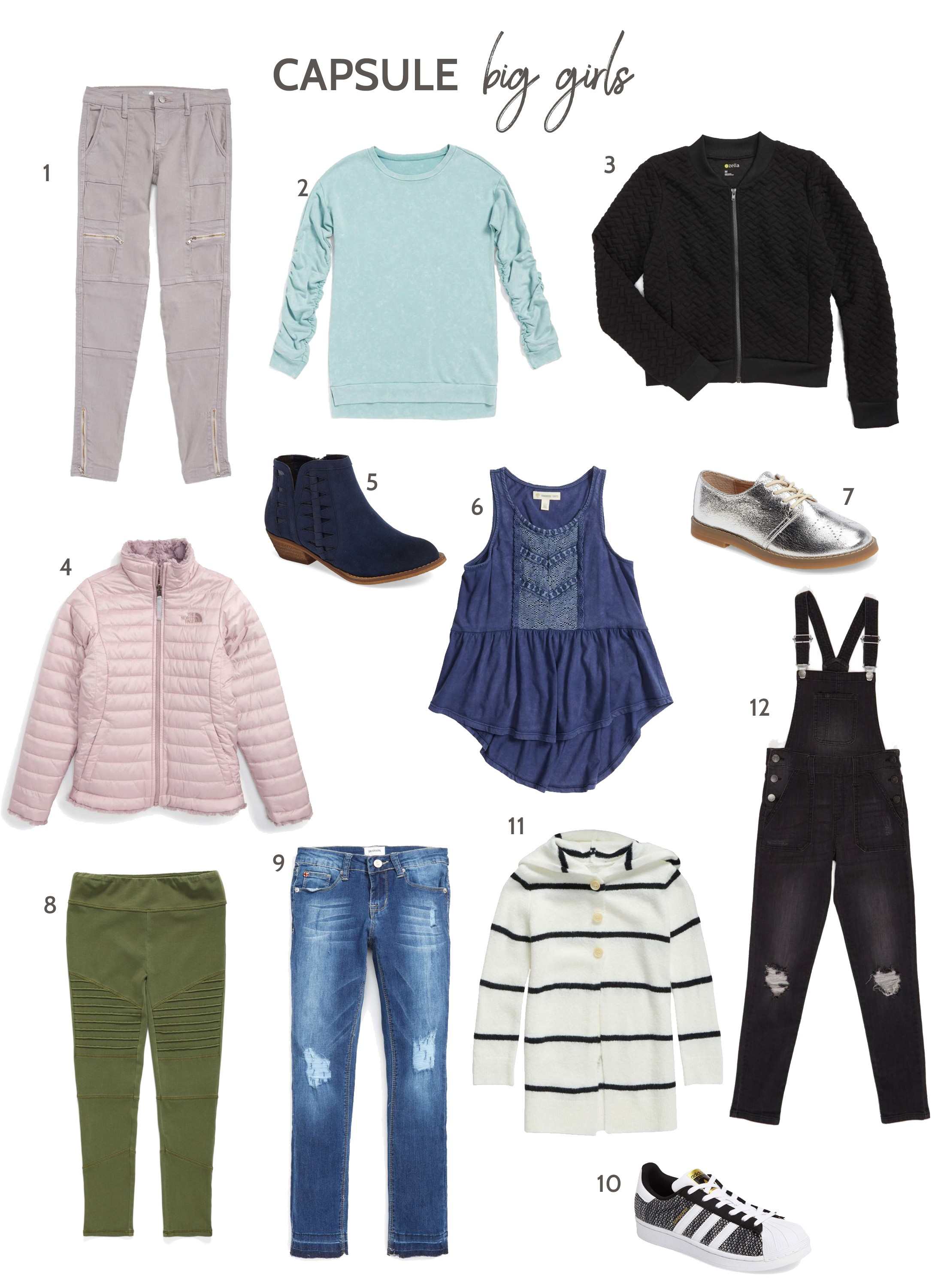 aa9d2c3cba232 Fall Capsule Wardrobes for Girls (Featuring Nordstrom Anniversary Sale  Kids) | The Mom Edit