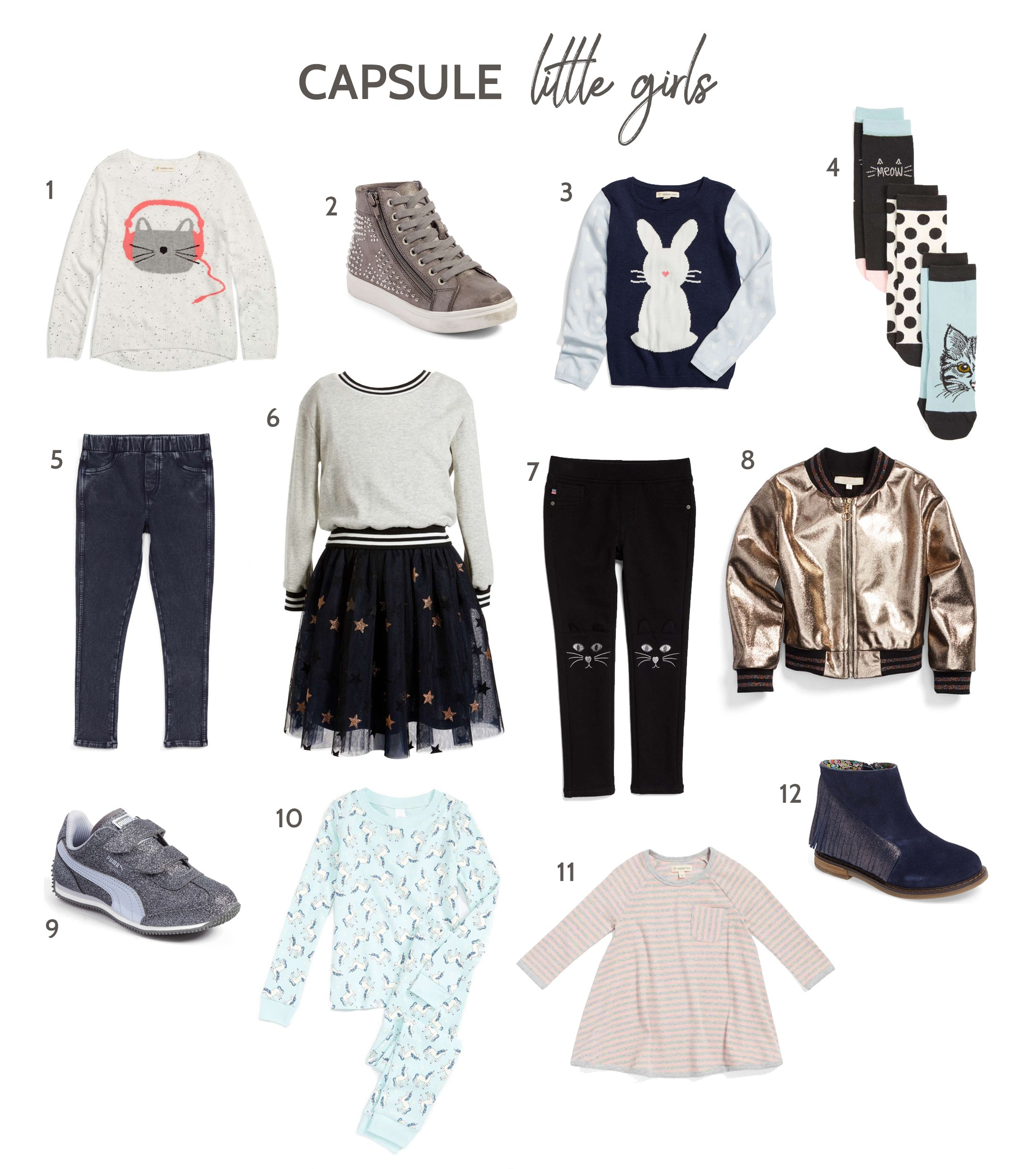 cd97f3d3cab7d Fall Capsule Wardrobes for Girls (Featuring Nordstrom Anniversary Sale Kids)