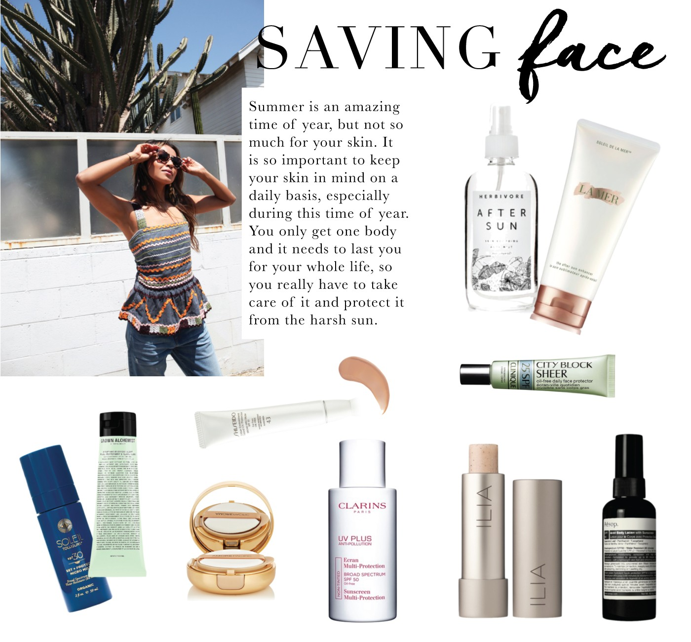 Saving Face – Sincerely Jules