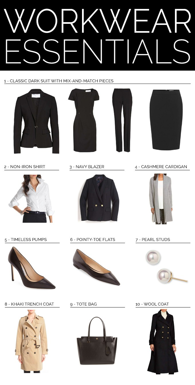 ebeb75333377 ... new job, or eager to up your style game at the office to land (or  keep!) a recent promotion, these are the staple items every working girl  should have ...