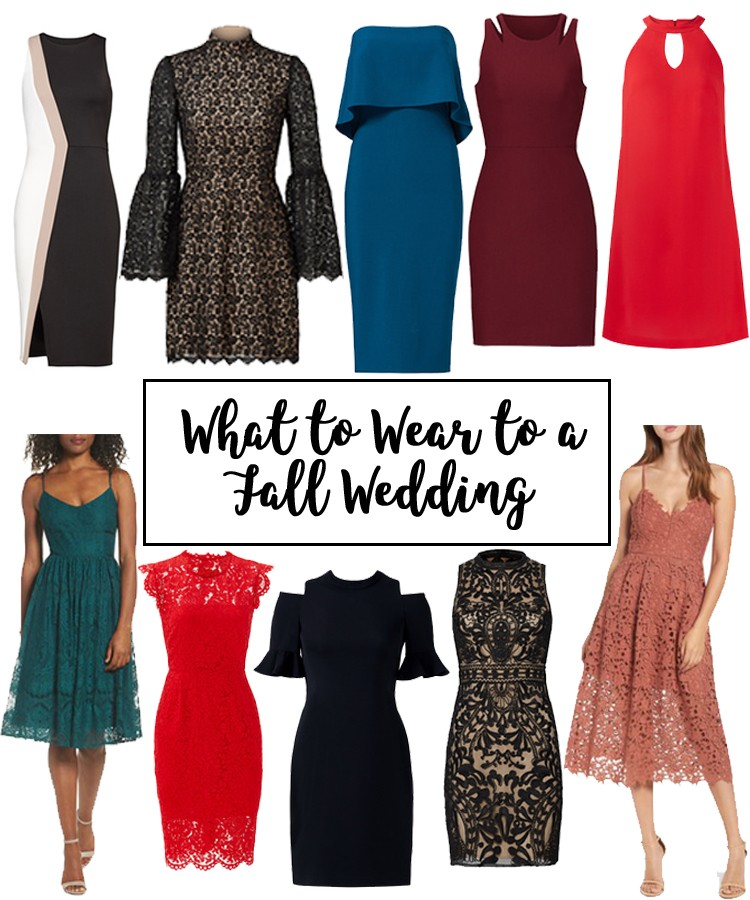 What To Wear A Fall Wedding