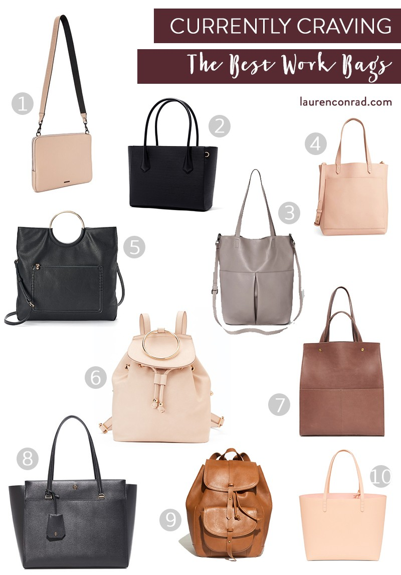 f43b461f16c Dagne Dover Legend Tote in Onyx, $265 3. Mossimo Supply Co. Large  Snap-close Tote in Gray, $29.99 4. Madewell Medium Leather Transport Tote  ...