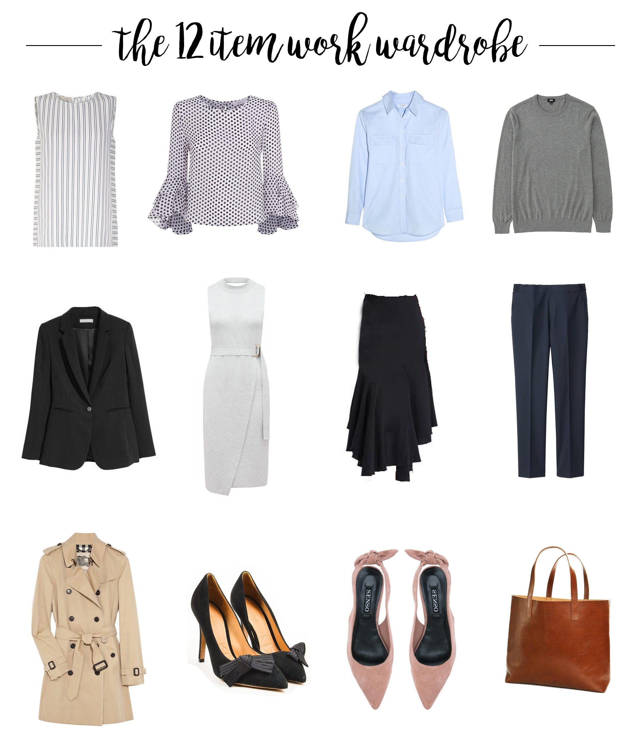 1bcbd59480d1d ... 12 items (and why I think you need them for your work wardrobe)