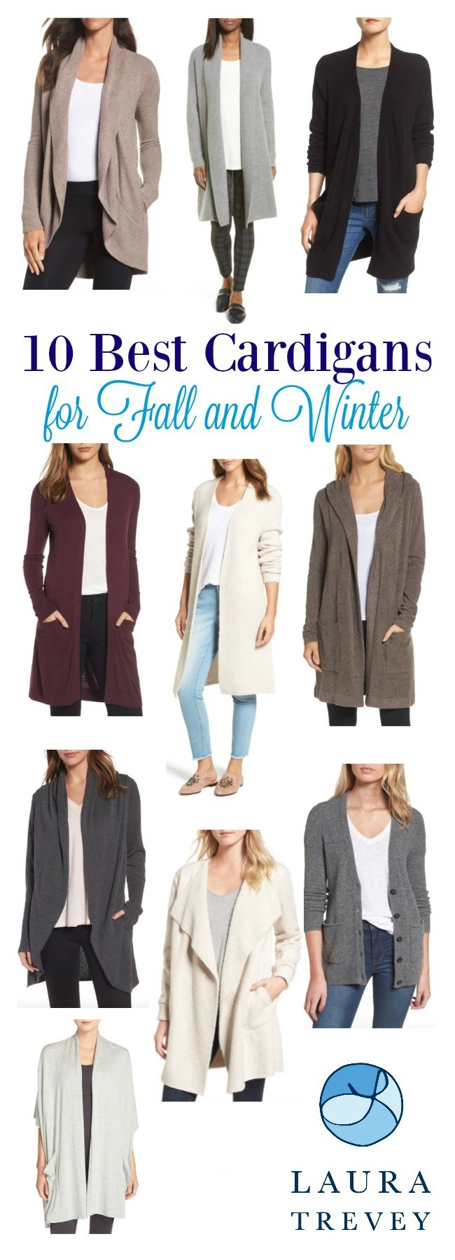 10 Best Cardigans For Fall and Winter | Laura Trevey