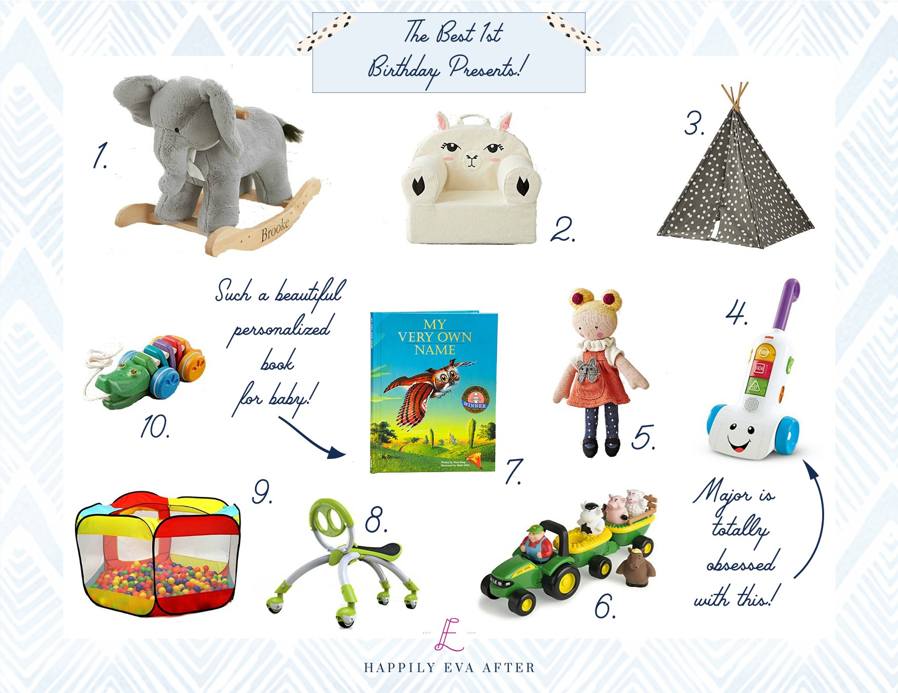 Today I Thought Id Share My Personal Roundup Of The Best First Birthday Presents Just Click On Collage Below For More Information