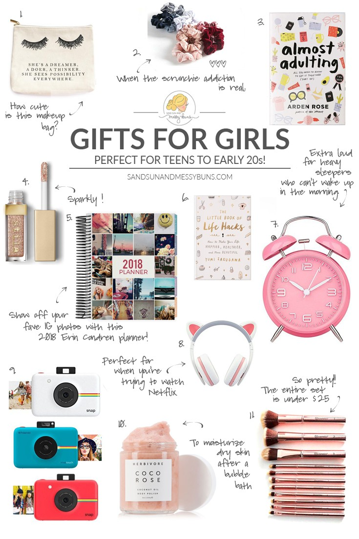 best gifts for teen girls in 2017 more than 50 gift ideas for college and