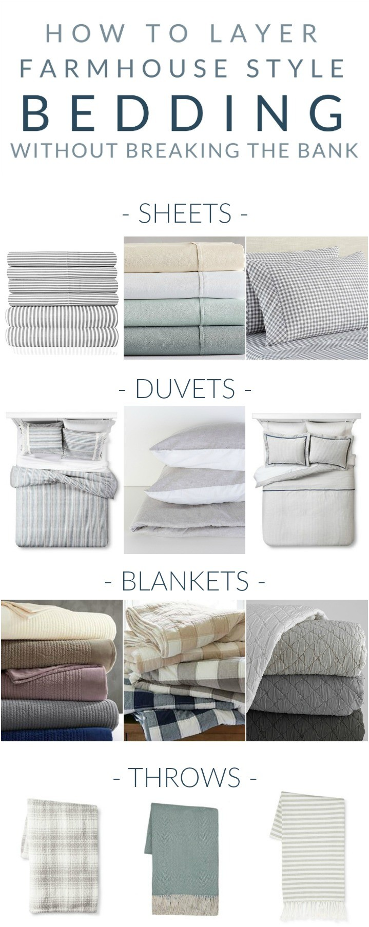 Farmhouse Bedding My Favorite Pieces For Layering That Wont
